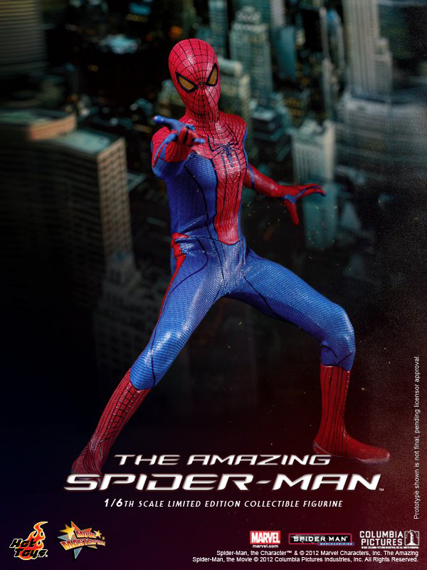 Preview | Hot Toys: Amazing Spiderman (7)