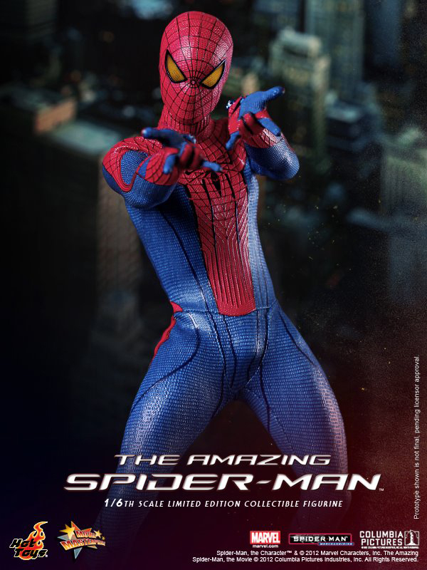 Preview | Hot Toys: Amazing Spiderman (14)