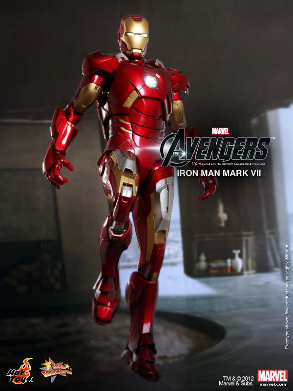 Preview | Hot Toys: Ironman Mark VII (19)