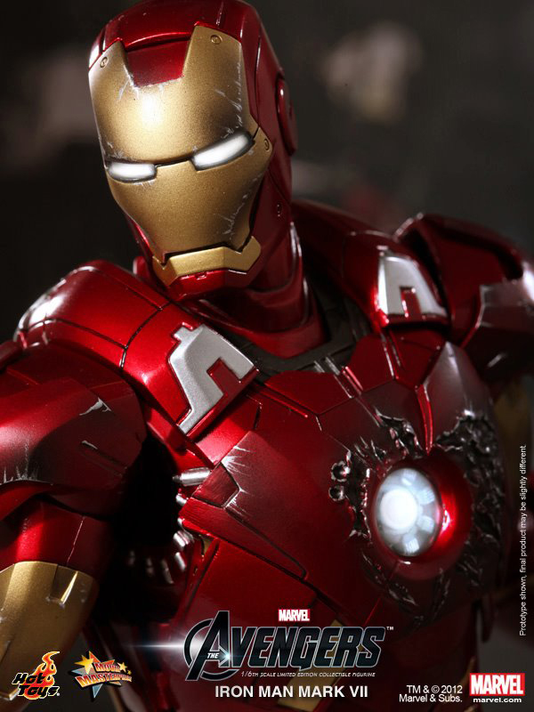 Preview | Hot Toys: Ironman Mark VII (18)
