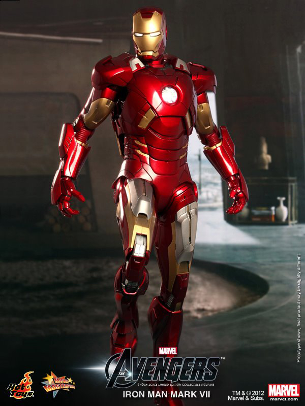 Preview | Hot Toys: Ironman Mark VII (5)