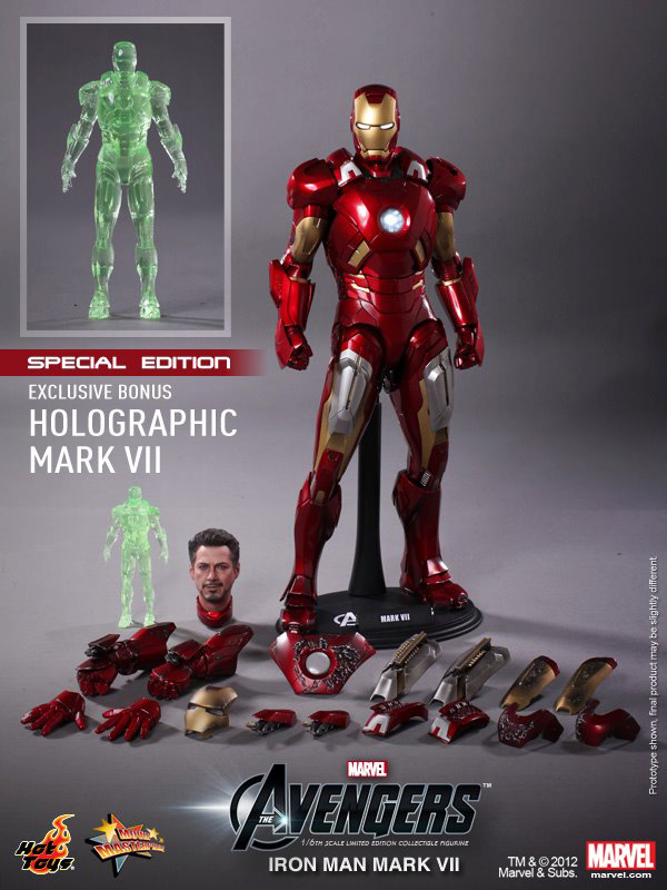 Preview | Hot Toys: Ironman Mark VII (4)