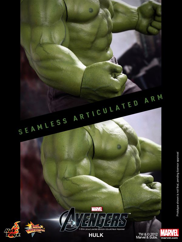 Preview | Hot Toys: Hulk (6)
