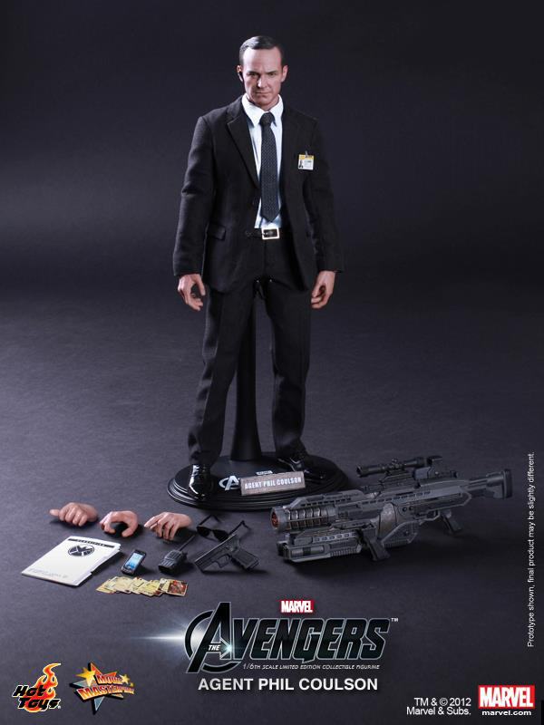 Preview | Hot Toys: Agent Phil Coulson (4)