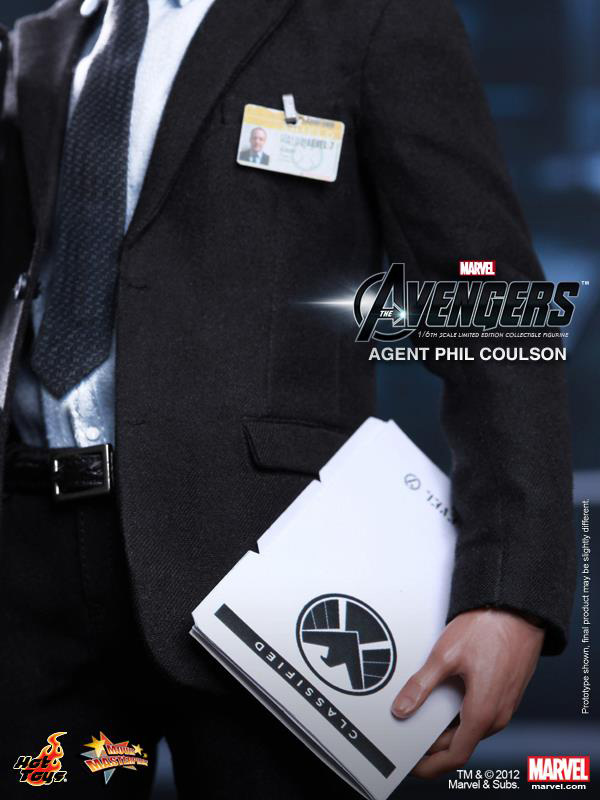 Preview | Hot Toys: Agent Phil Coulson (14)