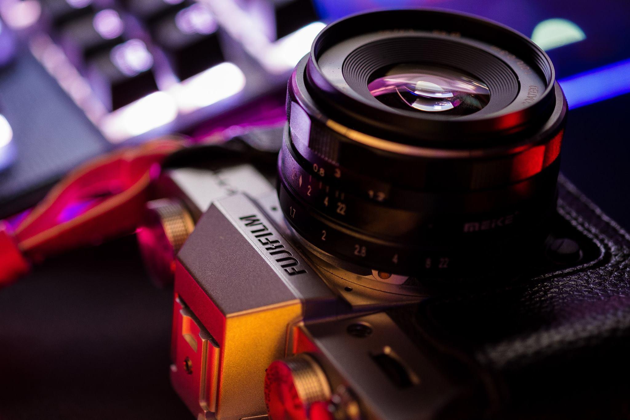 My first Fujifilm camera. Fujifilm X-T10.