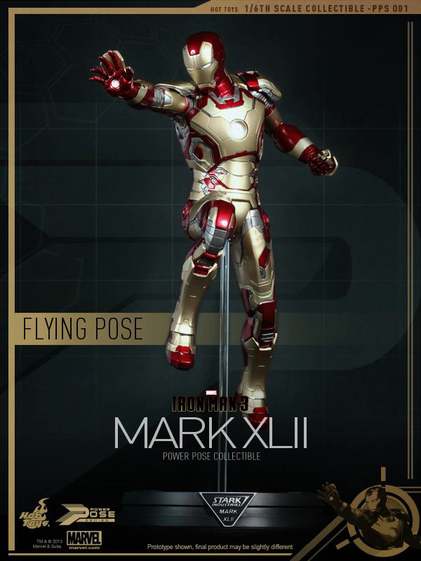 Preview | Hot Toys: Iron Man Mk XLII (Power Pose Series) (5)