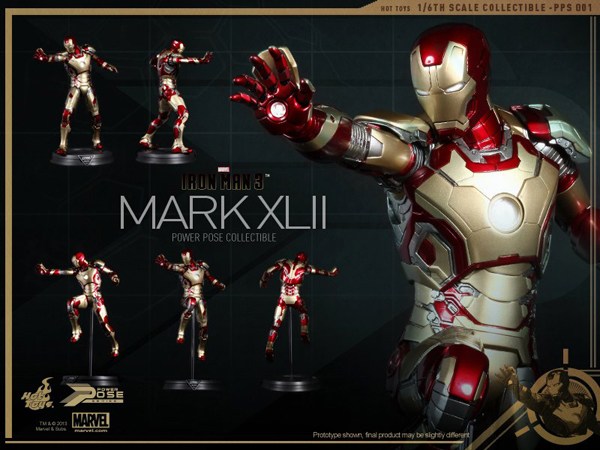 Preview | Hot Toys: Iron Man Mk XLII (Power Pose Series) (6)