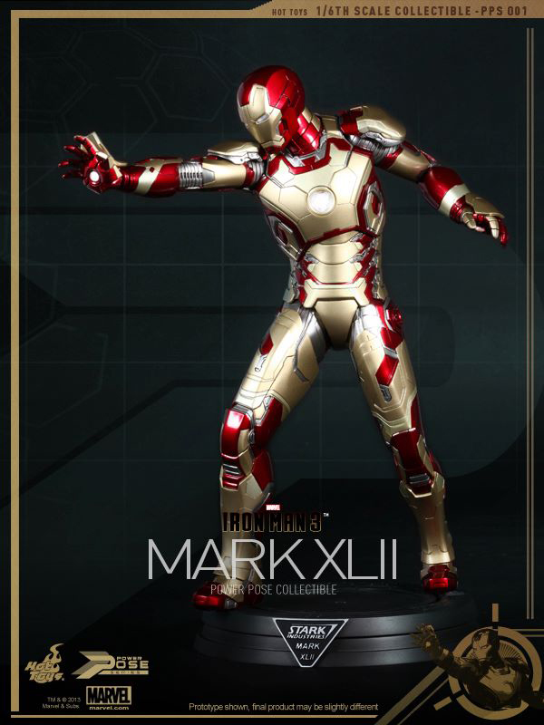 Preview | Hot Toys: Iron Man Mk XLII (Power Pose Series) (7)