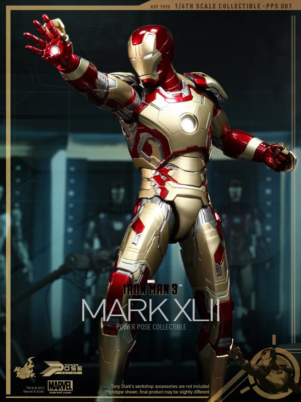 Preview | Hot Toys: Iron Man Mk XLII (Power Pose Series) (9)