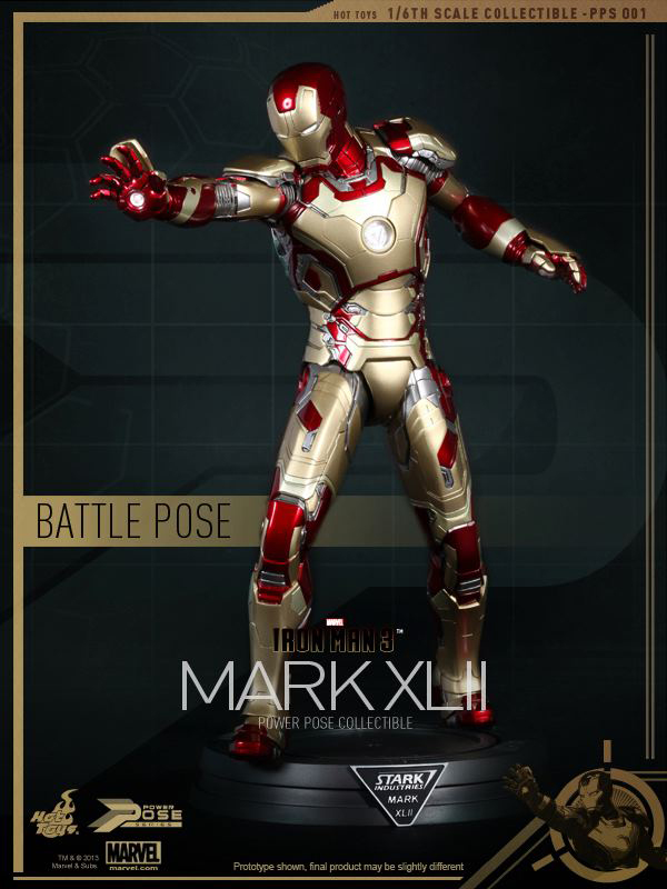 Preview | Hot Toys: Iron Man Mk XLII (Power Pose Series) (12)