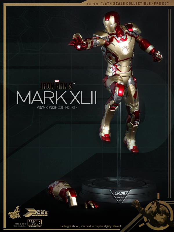 Preview | Hot Toys: Iron Man Mk XLII (Power Pose Series) (15)