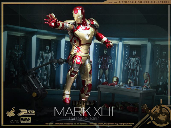 Preview | Hot Toys: Iron Man Mk XLII (Power Pose Series) (16)