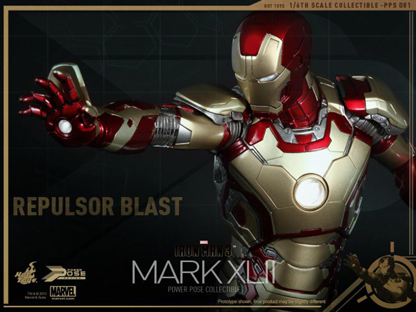 Preview | Hot Toys: Iron Man Mk XLII (Power Pose Series) (17)