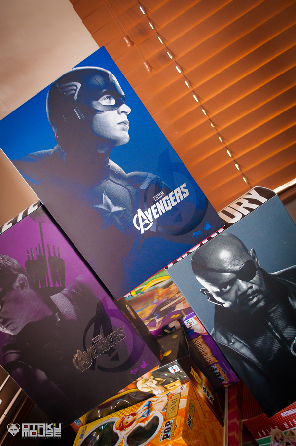 Hot Toys Captain America (Avengers Ver.) Get! (2)