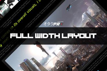 OtakuPro V2 Update: Full Width Layout (5)