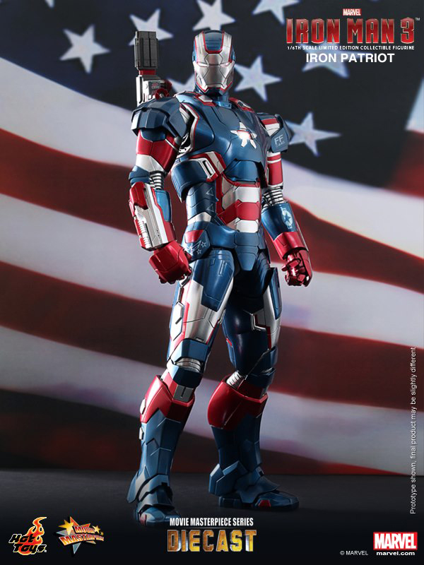 Preview | Hot Toys: Iron Patriot (DIECAST) (1)
