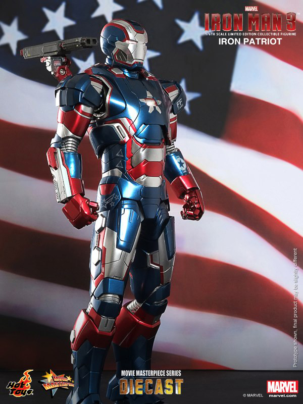 Preview | Hot Toys: Iron Patriot (DIECAST) (2)