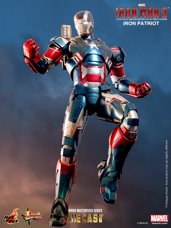 Preview | Hot Toys: Iron Patriot (DIECAST) (6)