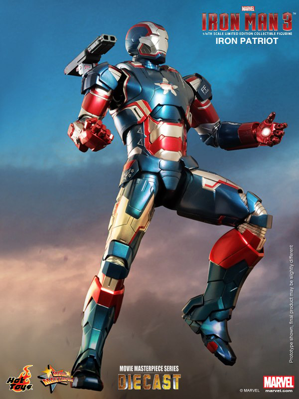 Preview | Hot Toys: Iron Patriot (DIECAST) (7)