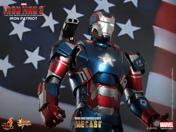 Preview | Hot Toys: Iron Patriot (DIECAST) (8)