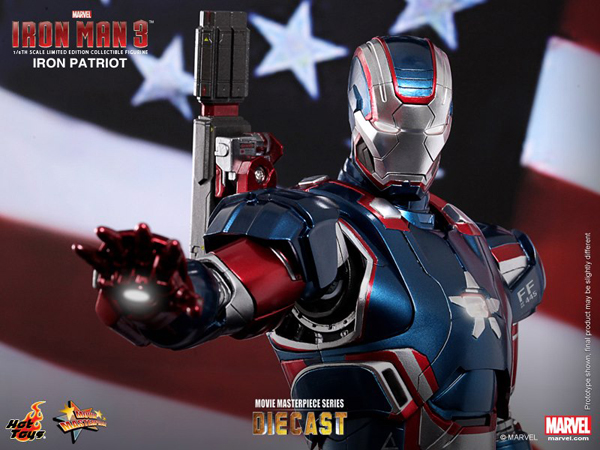 Preview | Hot Toys: Iron Patriot (DIECAST) (10)