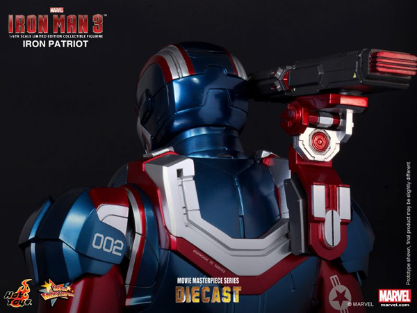 Preview | Hot Toys: Iron Patriot (DIECAST) (12)