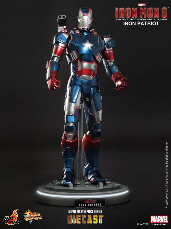 Preview | Hot Toys: Iron Patriot (DIECAST) (14)
