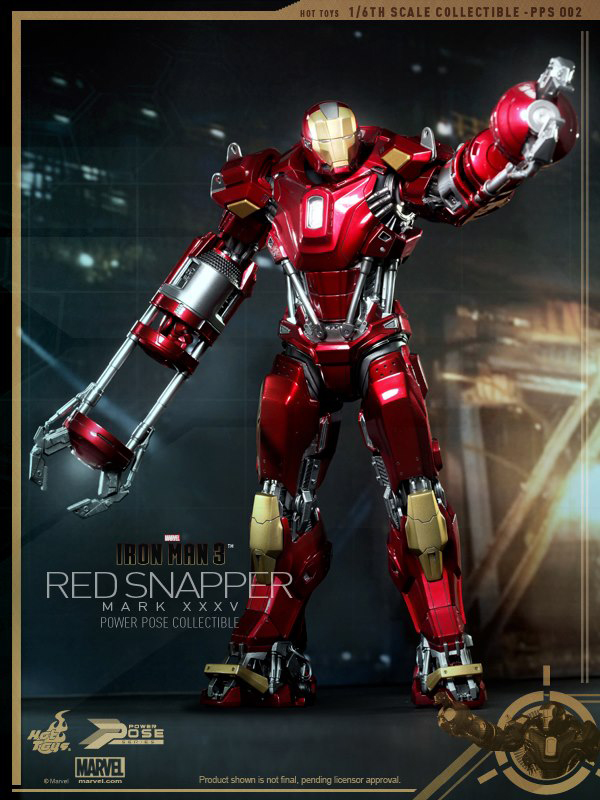Preview | Hot Toys: Iron Man Mark 35 (Red Snapper) (1)