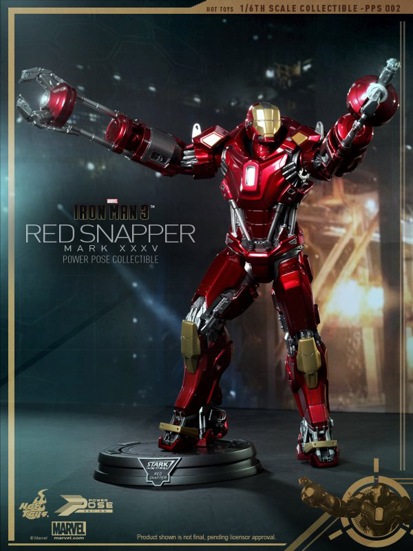 Preview | Hot Toys: Iron Man Mark 35 (Red Snapper) (2)