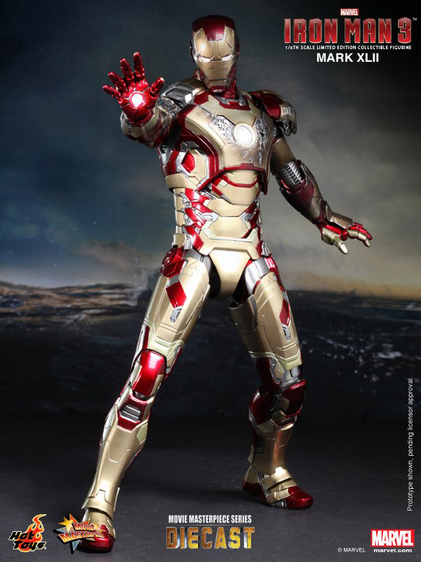 Preview | Hot Toys: Iron Man Mark XLII (Diecast) (3)