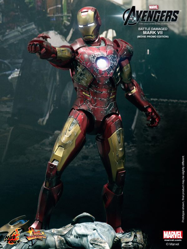 Preview | Hot Toys: Iron Man Mark VII (Battle Damaged Ver.) (5)