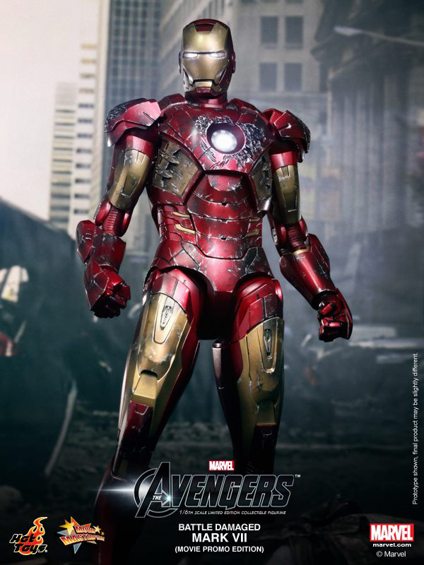 Preview | Hot Toys: Iron Man Mark VII (Battle Damaged Ver.) (6)