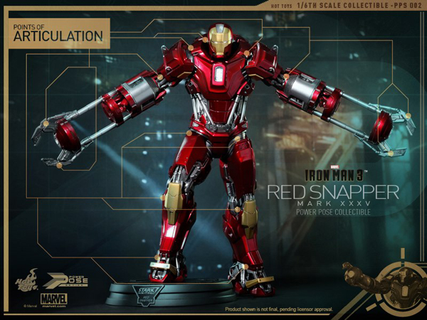 Preview | Hot Toys: Iron Man Mark 35 (Red Snapper) (6)