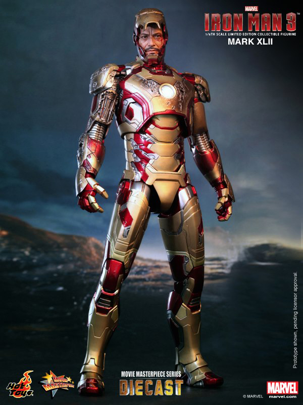 Preview | Hot Toys: Iron Man Mark XLII (Diecast) (7)