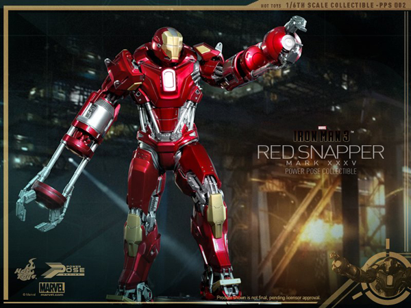 Preview | Hot Toys: Iron Man Mark 35 (Red Snapper) (7)