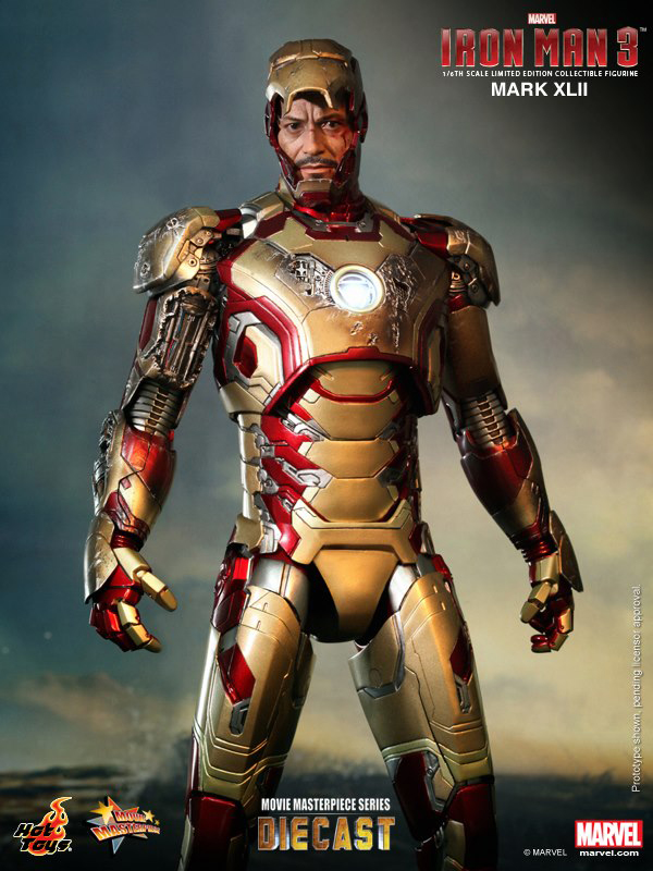 Preview | Hot Toys: Iron Man Mark XLII (Diecast) (8)