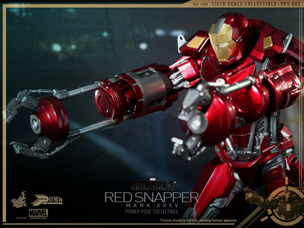 Preview | Hot Toys: Iron Man Mark 35 (Red Snapper) (8)