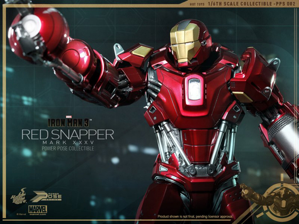 Preview | Hot Toys: Iron Man Mark 35 (Red Snapper) (9)