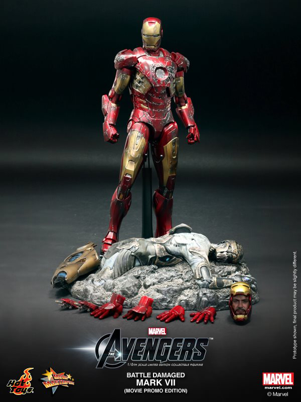 Preview | Hot Toys: Iron Man Mark VII (Battle Damaged Ver.) (10)