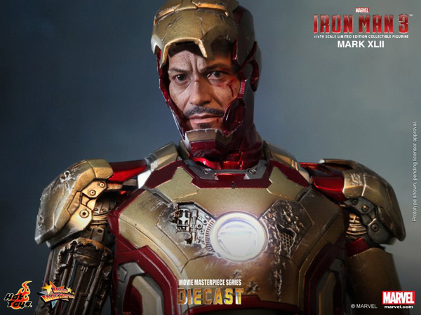 Preview | Hot Toys: Iron Man Mark XLII (Diecast) (11)