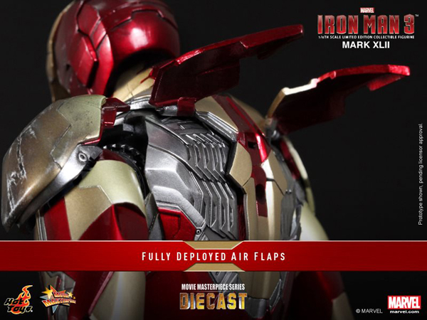 Preview | Hot Toys: Iron Man Mark XLII (Diecast) (12)