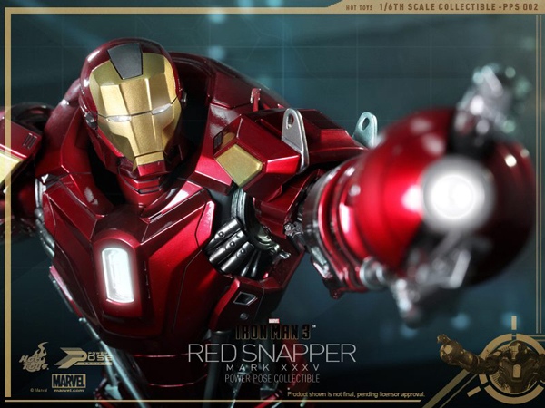 Preview | Hot Toys: Iron Man Mark 35 (Red Snapper) (12)