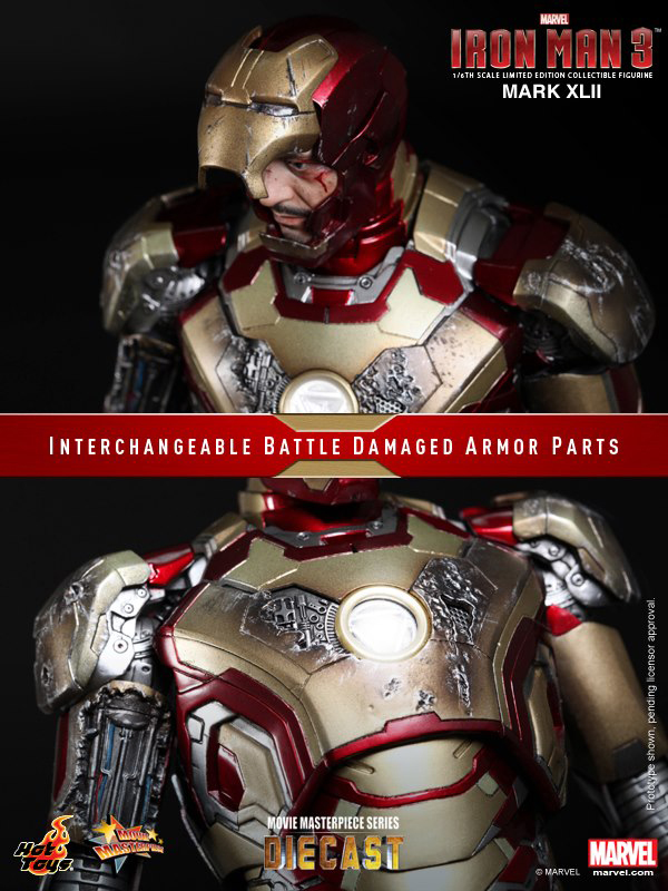 Preview | Hot Toys: Iron Man Mark XLII (Diecast) (13)