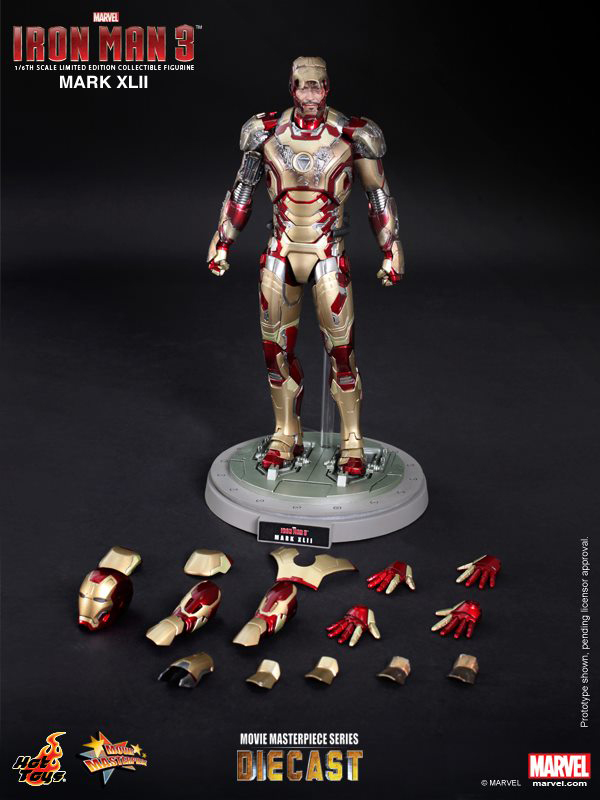 Preview | Hot Toys: Iron Man Mark XLII (Diecast) (15)