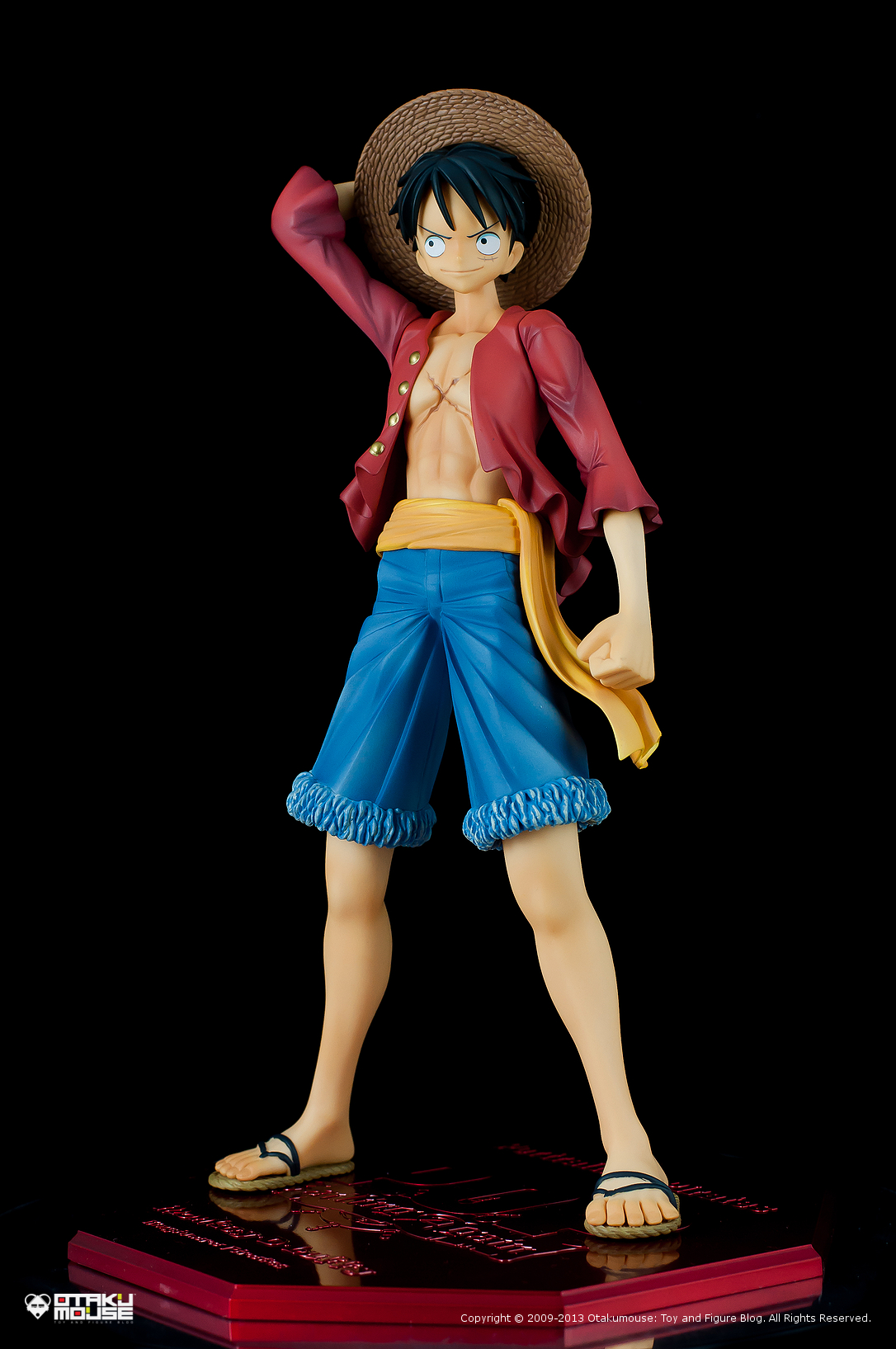 "Review | Megahouse: Monkey D. Luffy (Portrait Of Pirates ""Sailing Again"") (1)"