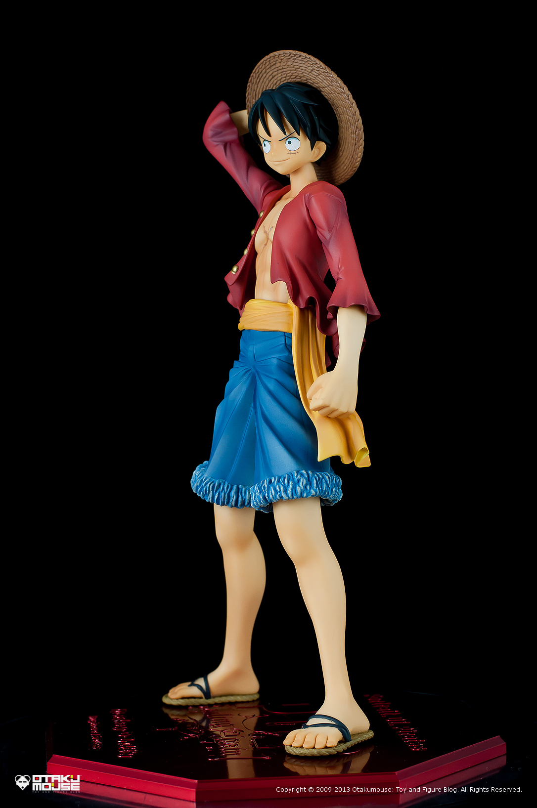 "Review | Megahouse: Monkey D. Luffy (Portrait Of Pirates ""Sailing Again"") (2)"
