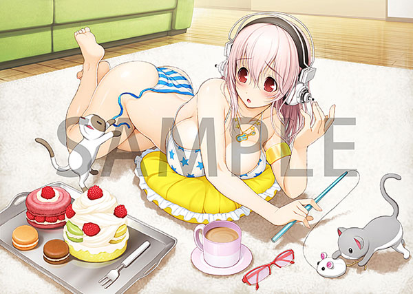 Preview | Arcadia: Sonico (Sweets & Bikini Ver.) (9)