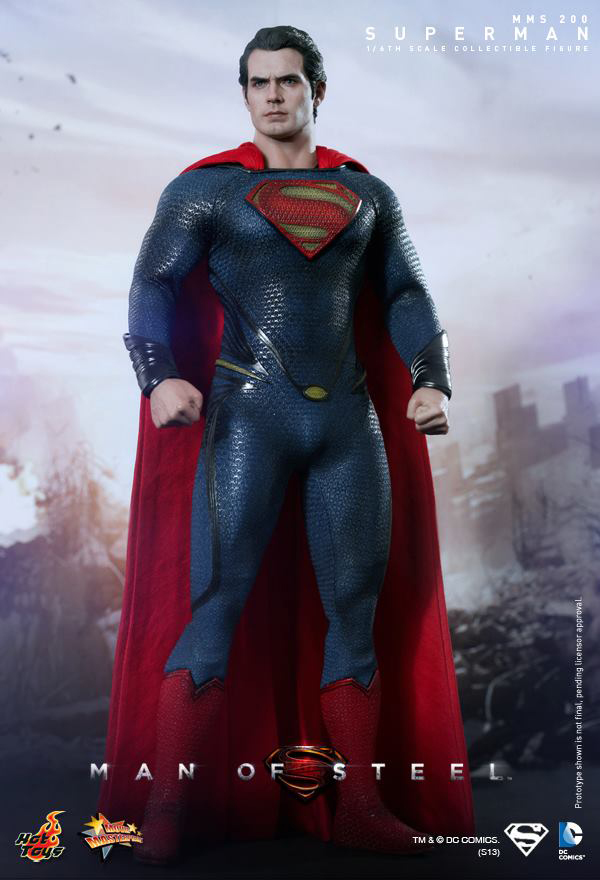 Preview | Hot Toys: Superman (Man Of Steel) (2)