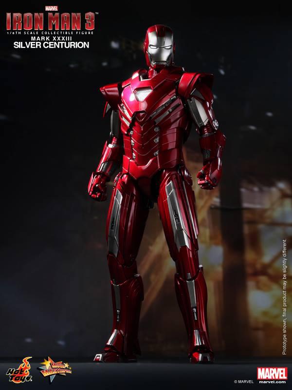 Preview | Hot Toys: Iron Man Mark XXXIII (Silver Centurion) (2)